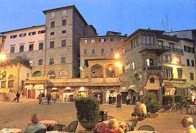 Il centro di Cortona