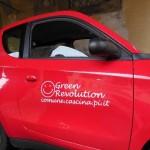 L'auto elettrica Icaro a Cascina