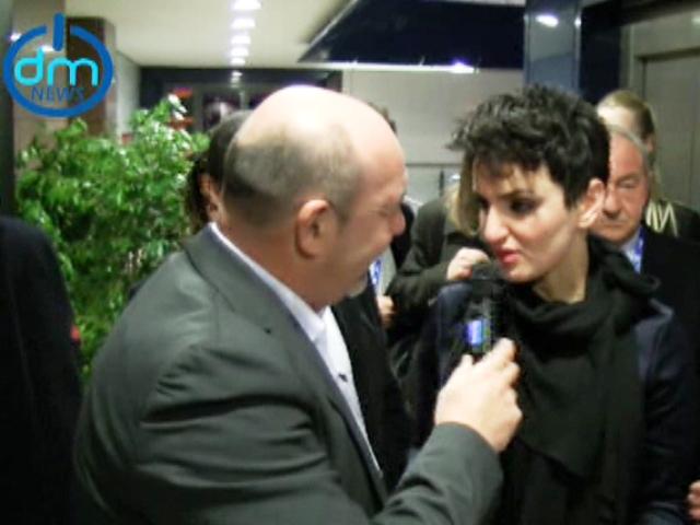 Arisa intervistata da Maurizio Zini
