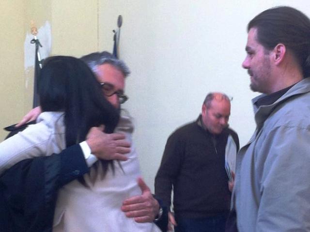 L'avvocato Pardo Cellini dopo l'assoluzione di Mandalà