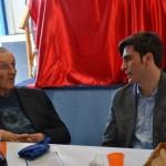 Manuel Borgioli e Don Renzo Fanfani