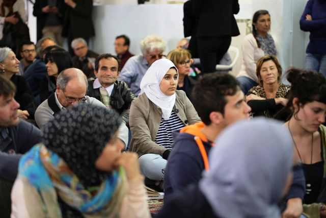 Un momento durante il Festival delle Religioni a Firenze