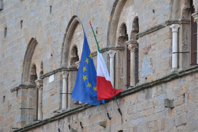 Il municipio di Volterra