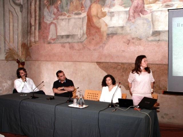 Da sx Antonio Ponzo, Simone Campinoti, Anjeza Saliaj, Cristina Corradini