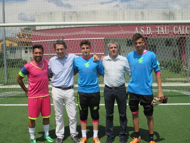 Da sinistra Farioli, Fagni, Orlandi, Citti e Cardelli