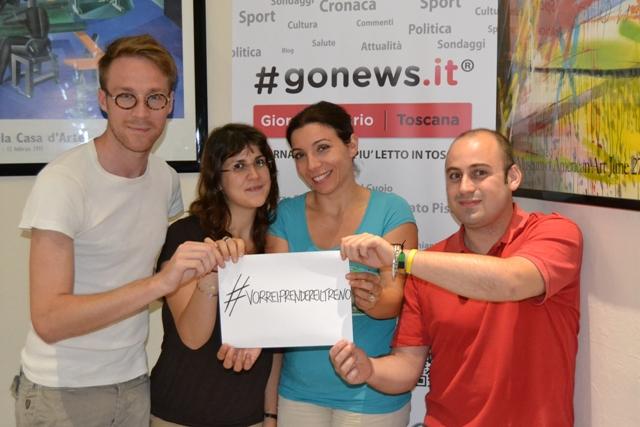 La redazione di gonews.it e Radio Lady aderisce a #vorreiprendereiltreno