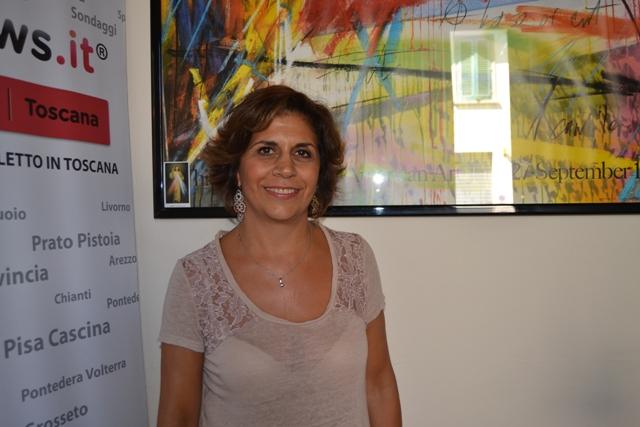 Sandra Caneschi, presidente dell'associazione Fil Rouge