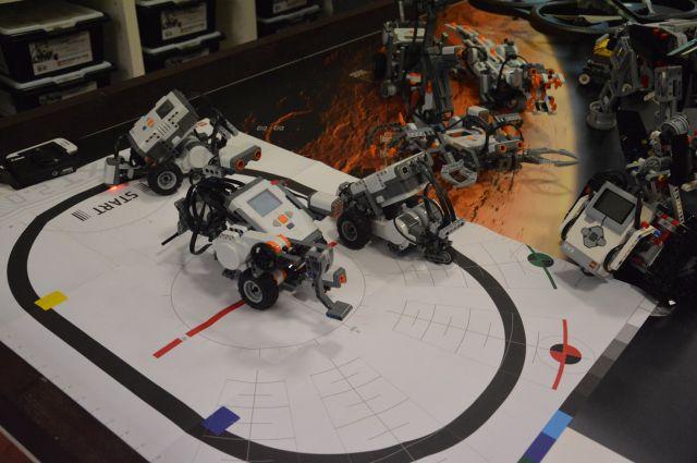 Alcuni robot sequestrati