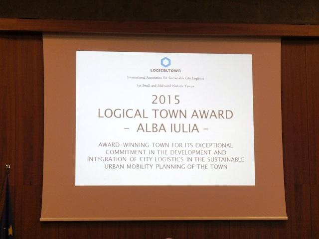 Alba Iulia vince il Logical Town Award_Lucca