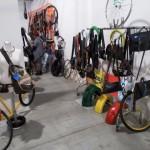 La sezione del padiglione Arsenale dedicata al riciclo, riuso ed ecosostenibilità (foto gonews.it)