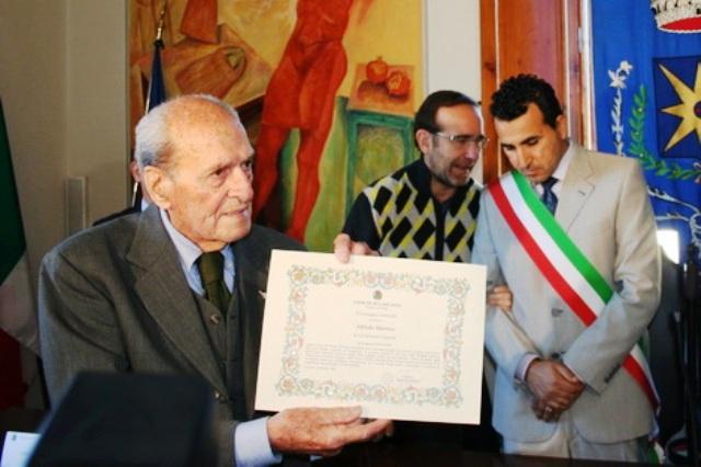 Alfredo Martini insignito della cittadinanza onoraria di Larciano