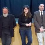 Da sinistra Pietro Cataldo, Chiara Bonciolini e Gabriele Toti (foto gonews.it)