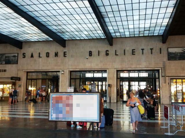 La stazione di Firenze Santa Maria Novella (foto gonews.it)