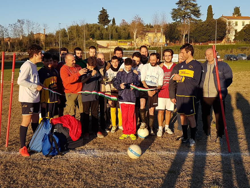 Inaugurazione del Calcio Sociale a Fontanella (gonews.it)