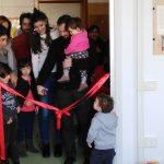 Taglio del nastro per il nuovo spazio gioco 'Lo Scoiattolo' a Castelfiorentino