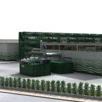 Rendering impianto Piombino (2) smaltimento rifiuti organici