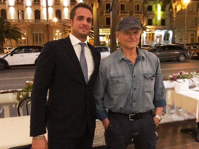 Terence Hill e Giuseppe Patruno