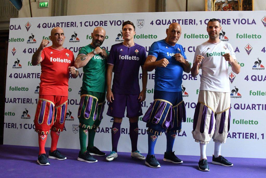 Nuove maglie della Fiorentina, i colori del calcio storico sulle ...