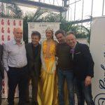 Miss vincente Asia Pantosti con giurati